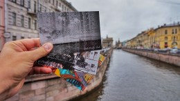 Открытка из Питера blognemo.ru, открытка, postcard
