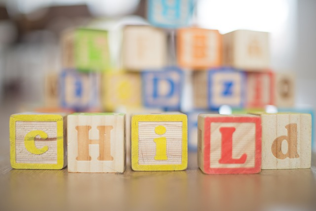 building blocks spell child