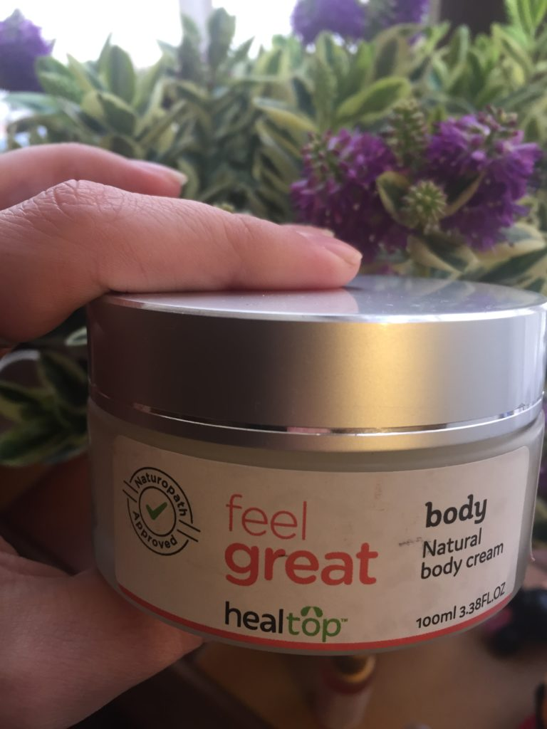 Feel Great natural body cream