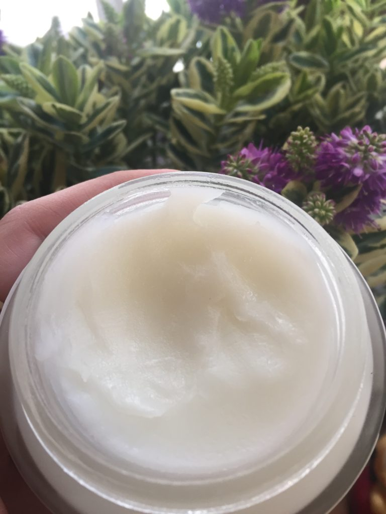 close up of the healtop feel good body cream