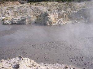 hells gate Rotorua mud pools