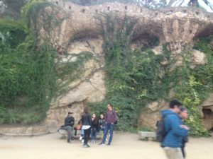 park guell Barcelona building