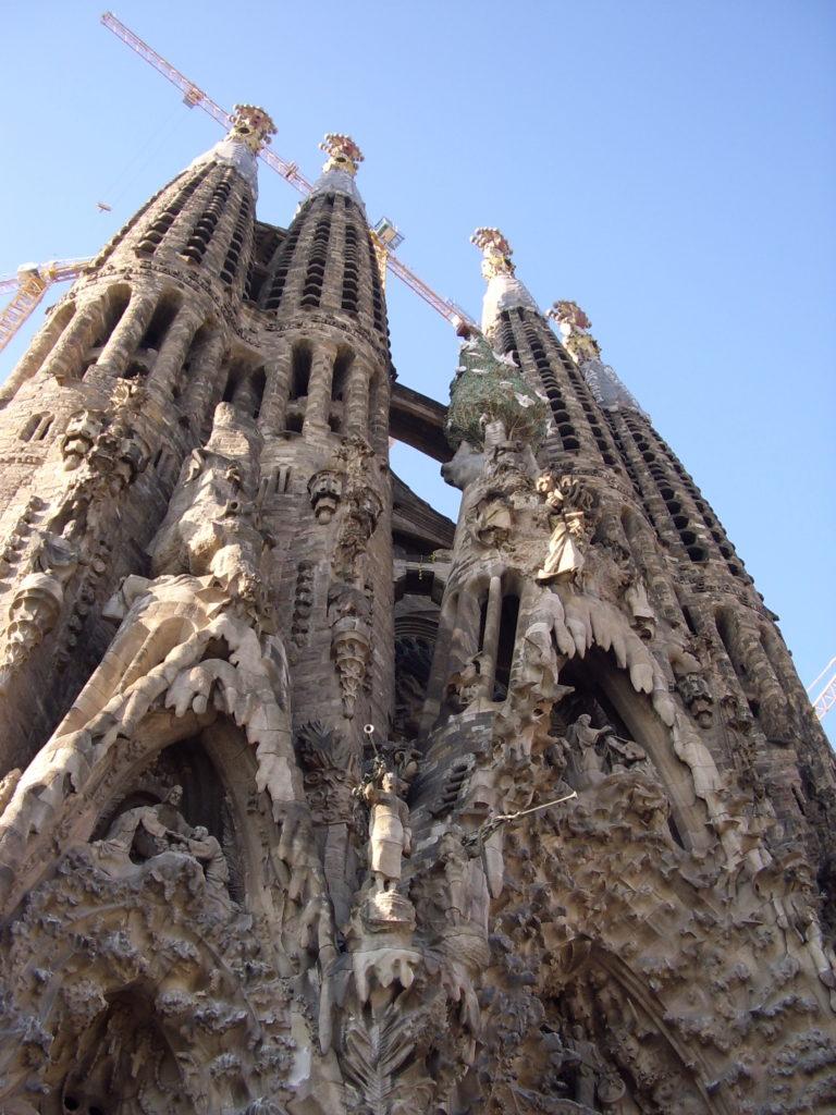 gaudy church Sagrada familia Barcelona