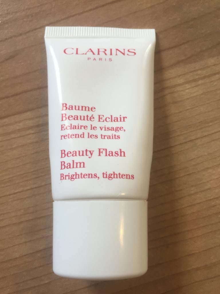 Clarins beauty flash balm makeup primer