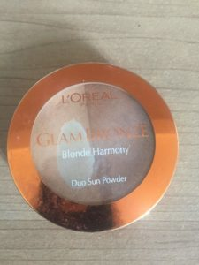 Loreal Glam bronzer duo