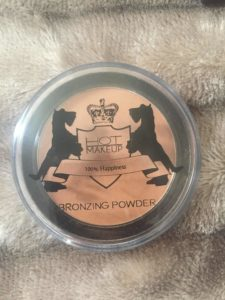 Hot makeup bronzer