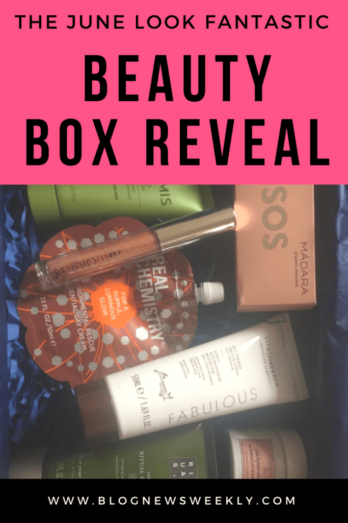 I was really impressed with the Look Fantastic June box and it is brilliant value for money! It only costs £13 per month and it always comes with 6 products