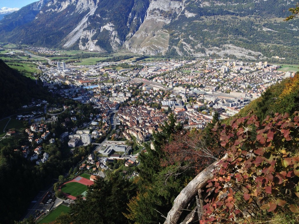 Chur Mountain village Switzerland