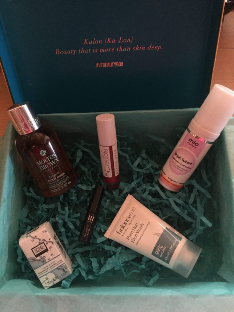 Look Fantastic August box contents