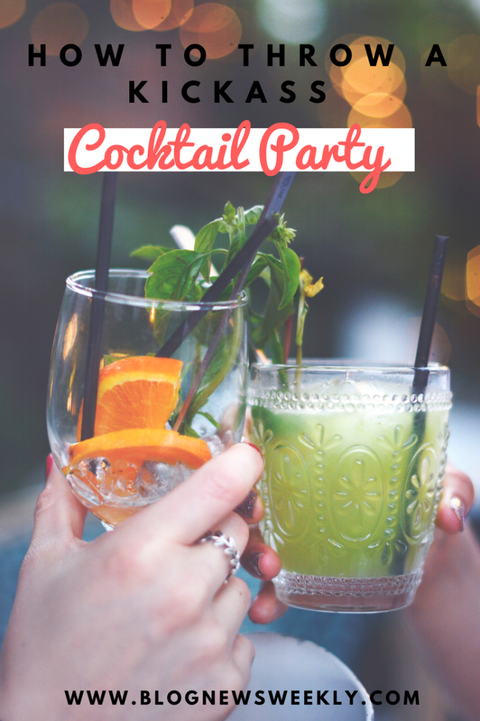 If you want to know how to throw a kickass cocktail party then look no further! After working as a barmaid for many years, I know how to throw one.