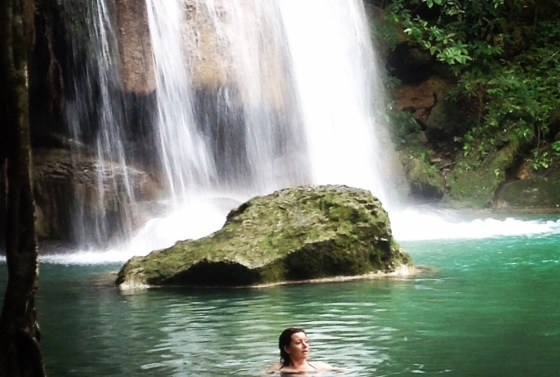 hiking-swimming-erewan-falls-thailand