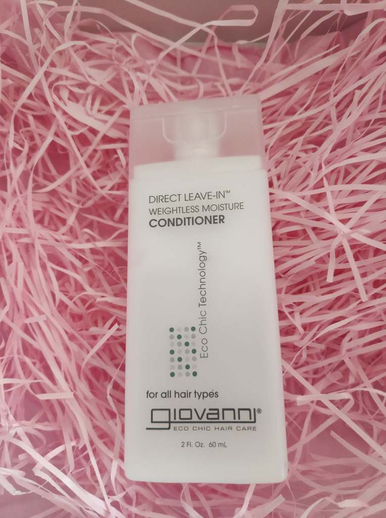 Giovanni leave in conditioner