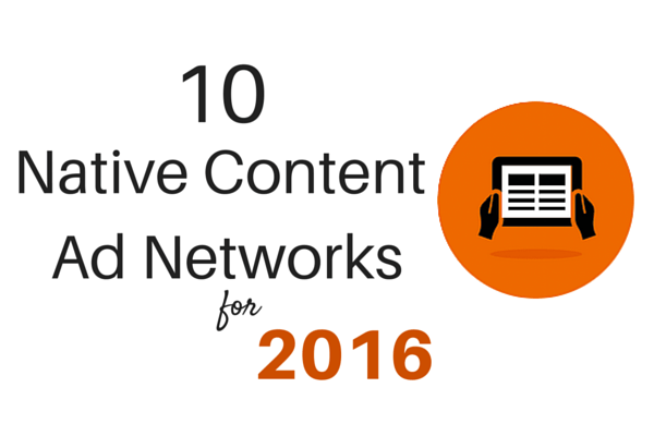 Top 10 Native Content Ad Networks for Publishers in 2020