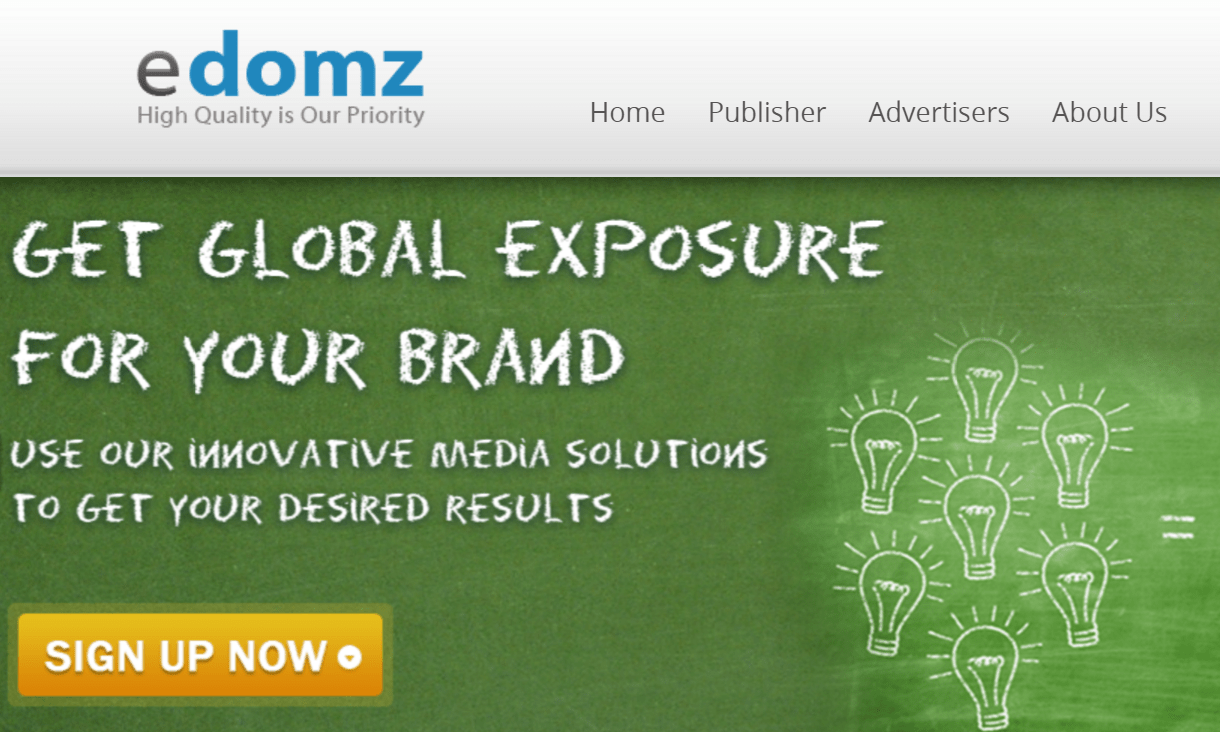 eDomz Review– Best CPM/Pop-up Ad Network for Publishers