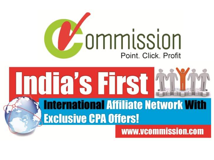 vCommission Review– Affiliate Network for Indian Publishers