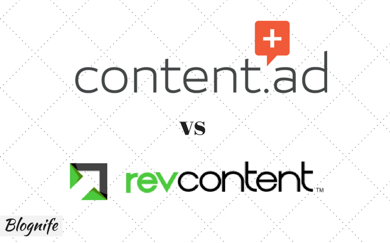 RevContent vs Content.ad- Choosing the Native Ad Network
