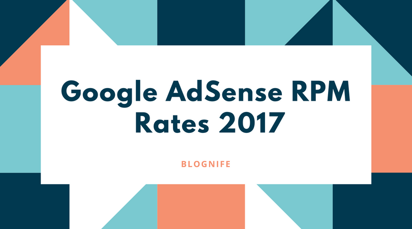 Google AdSense CPM Rates 2020