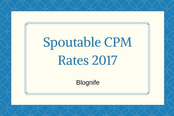 Spoutable CPM Rates 2019