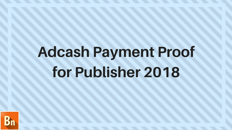 Adcash Payment Proof 2020