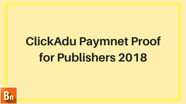 ClickAdu Payment Proof-2018