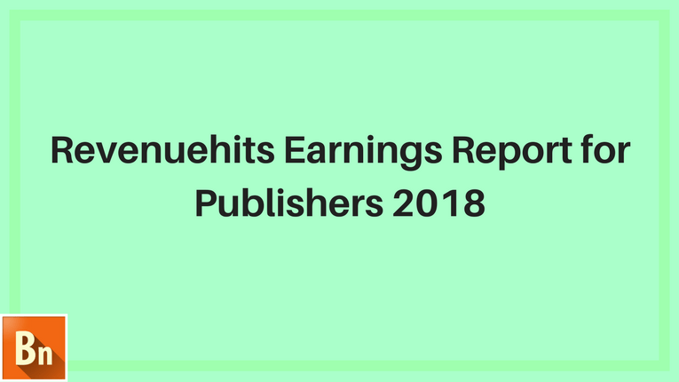 Revenuehits Earnings Report 2020