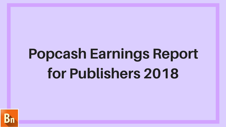 Popcash Earnings Report