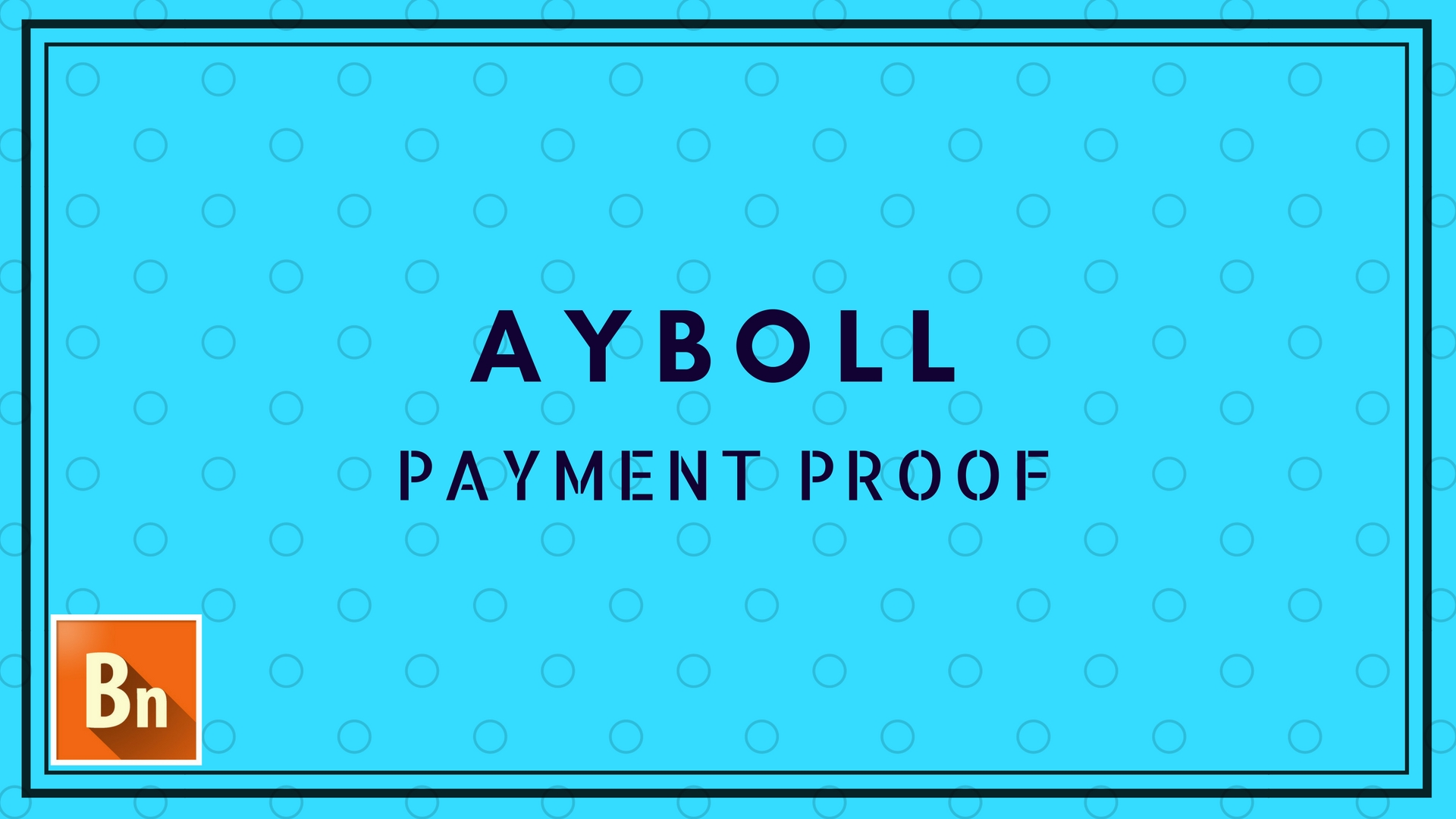 Ayboll Payment Proof for Publishers 2018