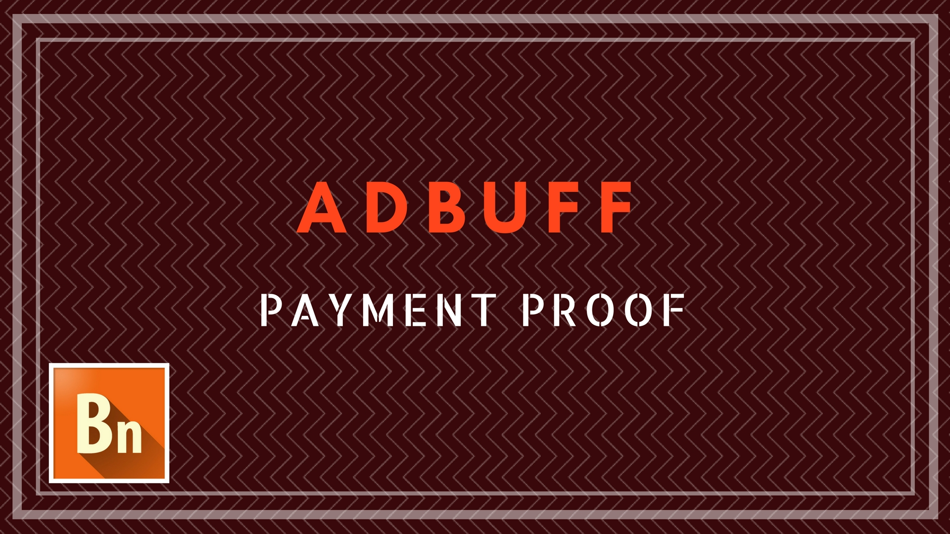 Adbuff Payment Proof for Publishers 2018
