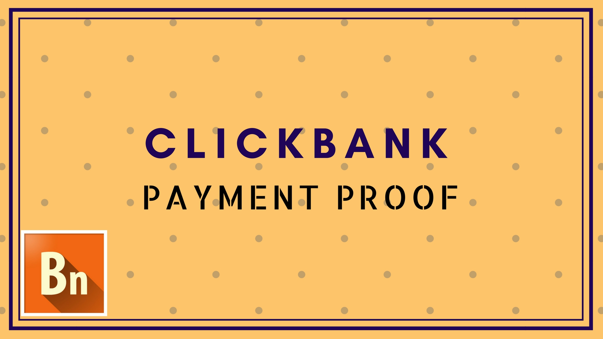 Clickbank Payment Proof for Publishers 2018