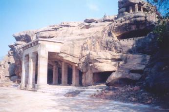 Hatigumpha, Udaygiri, Bhubaneswar(Photo Credit: Wikipedia)