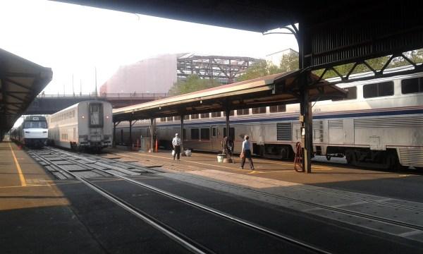 Amtrack Platform