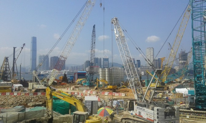 Cunstruction Harbor HK