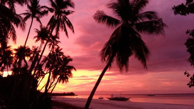 sunset bohol