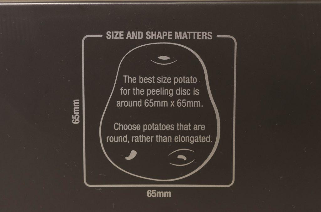 Potato guide Brevvile Kitchen Wizz 8