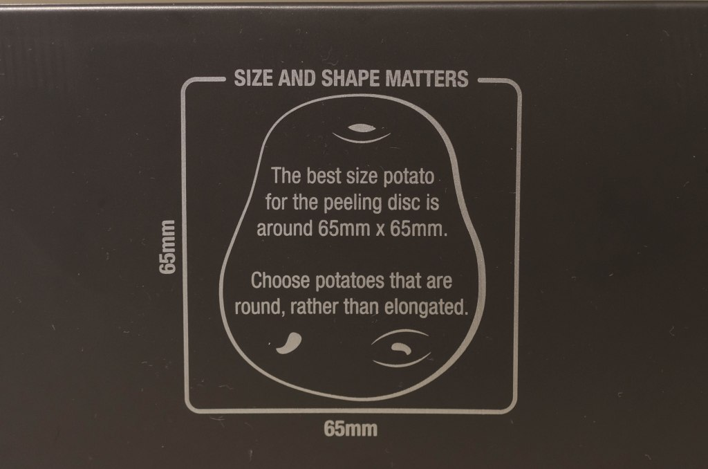 Potato guide Brevvile Kitchen Wizz 8