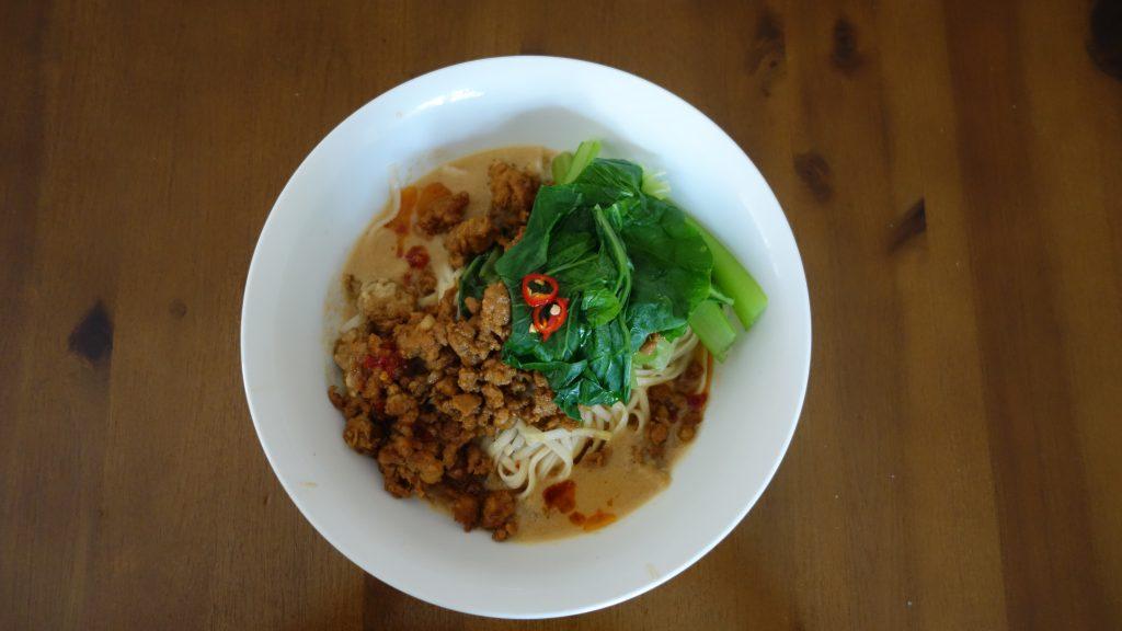 Marley Spoon Pork Dan Dan Noodles