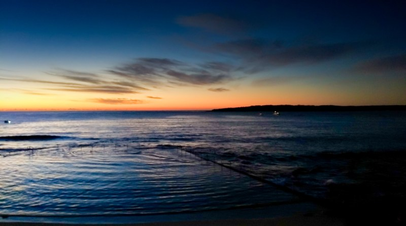 Cronulla Short Days Predawn after Running