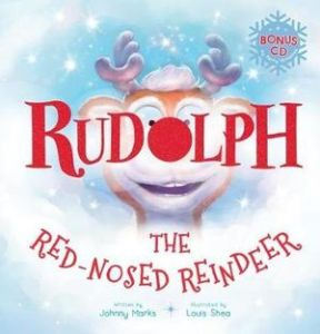 rudolph-the-red-nosed-reindeer-cd Christmas Picture Book Roundup