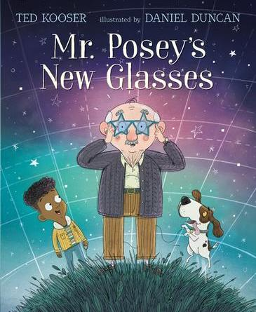 Mr Poseys New Glasses