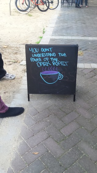 This Cafes sympathies are obviously clear.
