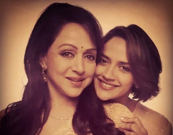 Hema Malini & Ahana Deol