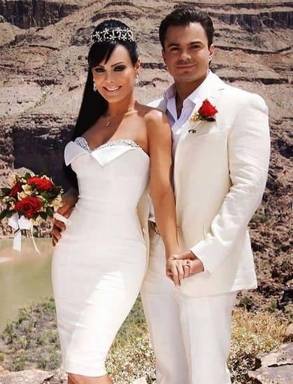 Maribel Guardia and Marco Chacon