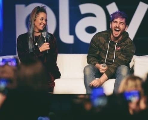 Julien and Jenna Marbles