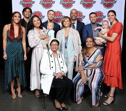Sonya Curry Family