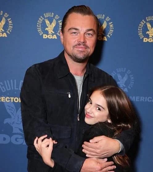 Julia and Leonardo DiCaprio