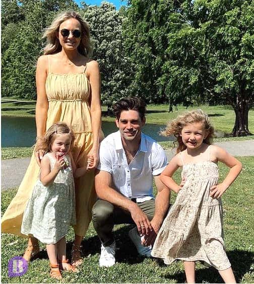 Melissa and Justin Gaston and their Childrens