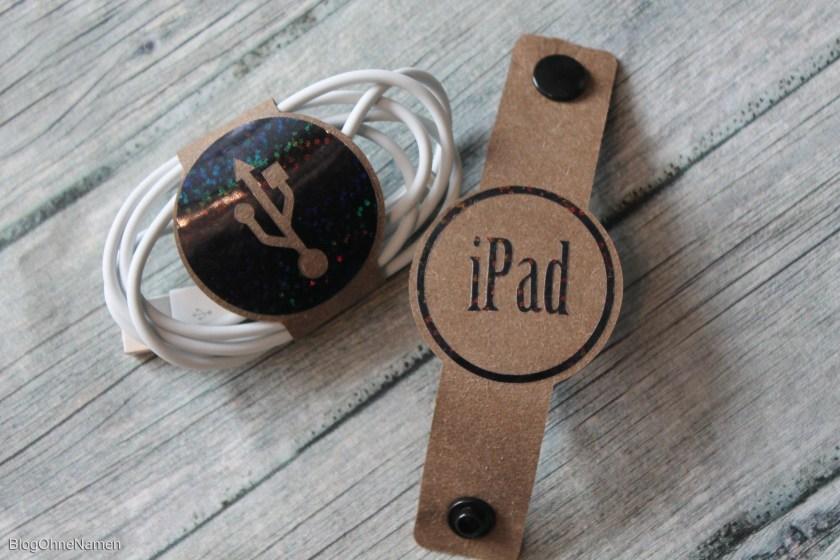 Snap Pap Resteverwertung mit einem Plotter-Freebie für einen Kabelbinder. Free SvG File
