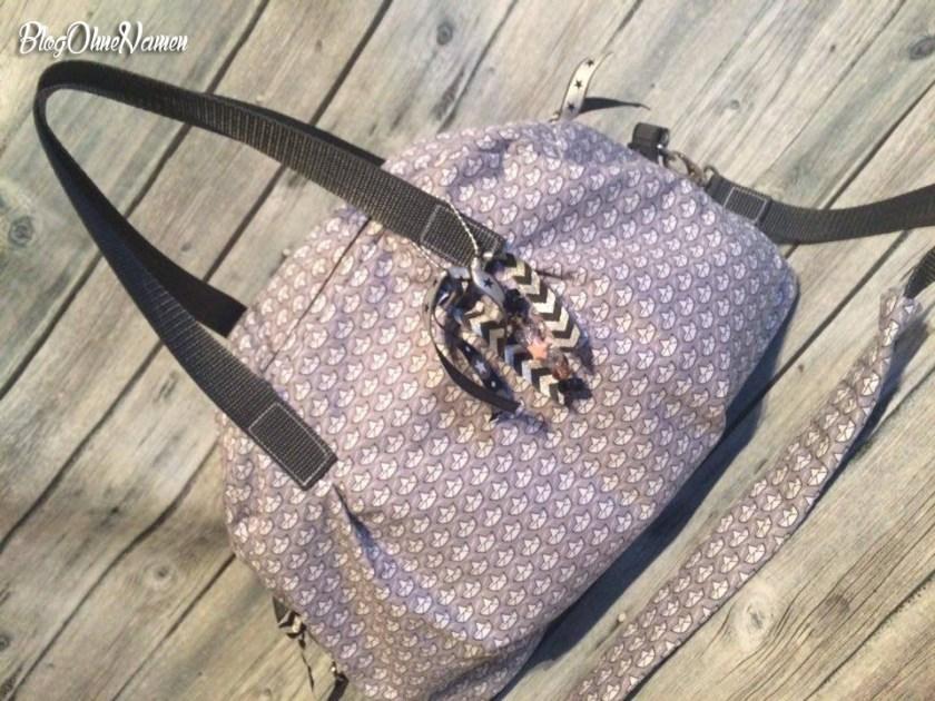Kugeltasche,Taschenspieler 2, Loveboat, Taschen nähen, Farbenmix