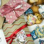 Pillow Box als Geschenkverpackung für Kekse