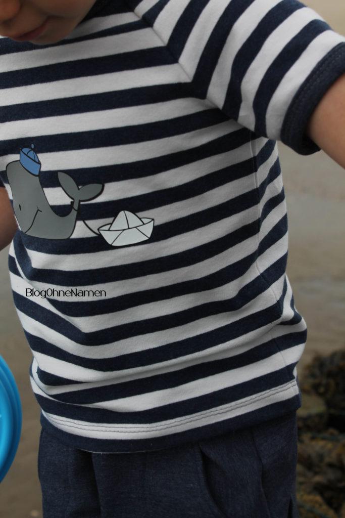 Maritimes Set aus Klimperklein Raglan-Shirt und Hose Finn mit der passenden Plotterdatei von EmmaPünktchen (8)